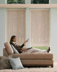 Designer Roller Shades with PowerView™ Motorization