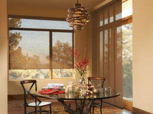 Designer Screen Shades & Skyline™ Gliding Window Panels