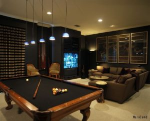 Man Caves Englewood : Window treatments for man cave blinds shades draperies rumson nj